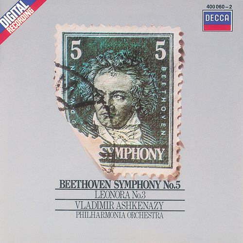 Beethoven: Symphony No.5/Overture Leonore No.3 by Philharmonia Orchestra