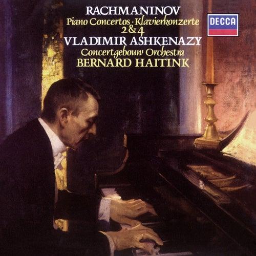 Rachmaninov: Piano Concertos Nos.2 & 4 by Vladimir Ashkenazy
