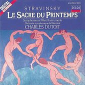 Stravinsky: The Rite of Spring/Symphonies of Wind Instruments by Various Artists