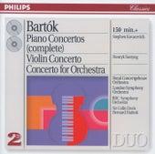 Bartók: The Piano Concertos; Violin Concerto No.2; Concerto for Orchestra by Various Artists