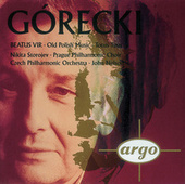 Gorecki: Beatus Vir/Totus tuus/Old Polish Music by Nikita Storojew
