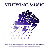 Studying Music: Sounds of Thunderstorms and Relaxing Ambient Music For Studying, Focus, Concentration, Music For Reading and Study Music de Study Music