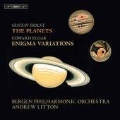 Holst: The Planets, Op. 32 - Elgar: Enigma Variations, Op. 36 de Various Artists