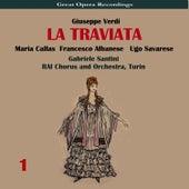 Verdi: La traviata, Vol. 1 by Maria Callas