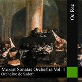Mozart Sonatas Orchestra Vol. 1 de Orchestre de Sadoth