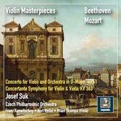 Violin Masterpieces: Josef Suk Plays Beethoven & Mozart (2019 Remaster) de Josef Suk