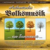 Authentische Volksmusik - zur Sommerzeit / Saitenmusik-Tanzlmusik / Blechbläser-Gesang by Various Artists