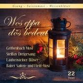 Wos eppa dös bedeut' / Gesang-Saitenmusik-Weisenbläser by Various Artists