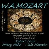 Mozart: Trio K. 496 & Trio K. 442 (Completed by Robert Levin) von Robert Levin