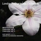Beethoven: Symphonies Nos. 1 & 4 de Kurt Masur