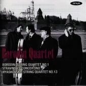 Borodin Quartet perform Borodin, Stravinsky & Myaskovsky by Borodin Quartet
