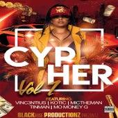 Cypher, Vol. 1 (feat. Vinc3ntius, Kotic, MicTheMan, Tinman & Mo Money G) von Blackrose Productionz