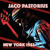 New York 1982 de Jaco Pastorius
