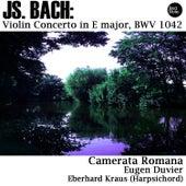 Bach: Violin Concerto in E major, BWV 1042 by Eugen Duvier