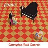Piano von Champion Jack Dupree