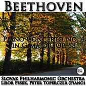 Beethoven: Piano Concerto No. 4 in G major, Op. 58 by Libor Pesek