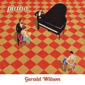 Piano de Gerald Wilson