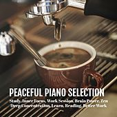 Peaceful Piano Selection: Study, Inner Focus, Work Session, Brain Power, Zen, Deep Concentration, Learn, Reading, Better Work von Various Artists