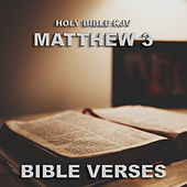 Holy Bible KJV Matthew 3 by Bible Verses