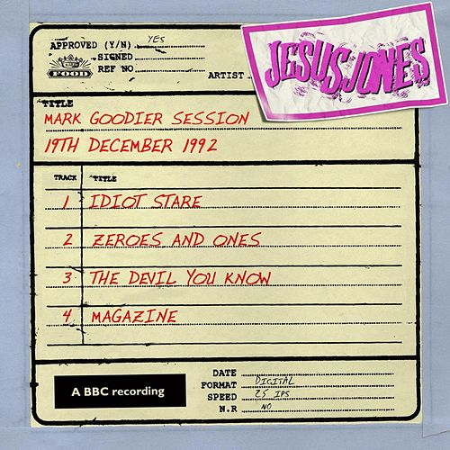 Mark Goodier Session (19th December 1992) by Jesus Jones