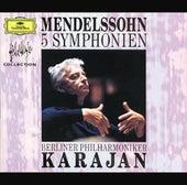 Mendelssohn: 5 Symphonies de Berliner Philharmoniker