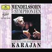 Mendelssohn: 5 Symphonies von Berliner Philharmoniker