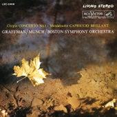 Chopin: Piano Concerto No. 1 in E Minor, Op. 11 / Mendelssohn: Capriccio brillant in B Minor for Piano and Orchestra, Op. 22 von Charles Munch