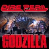 Godzilla by Dire Peril
