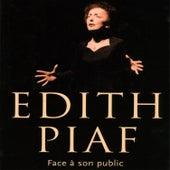 Face À Son Public de Edith Piaf
