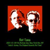 2001-01-09 The Bottom Line, New York City, NY by Hot Tuna