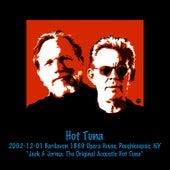 2002-12-01 Bardavon 1869 Opera House, Poughkeepsie, NY by Hot Tuna