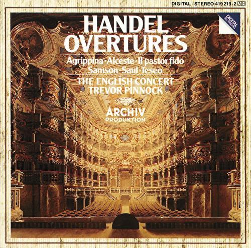 Handel: Overtures by Various Artists