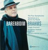 Brahms : Symphonies Nos 1-4 & Orchestral Works de Daniel Barenboim