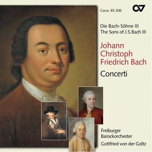 The Sons of Bach, Vol. 3: Concerti by Gottfried von der Goltz