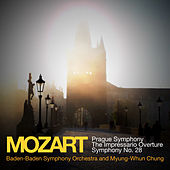 Mozart: Prague Symphony, The Impressario Overture, Symphony No. 28 by Myung-Whun Chung