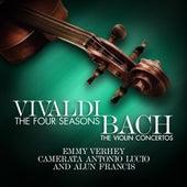 Vivaldi - The Four Seasons - Bach: The Violin Concertos by Camerata Antonio Lucio and Alun Francis Emmy Verhey