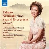 Takako Nishizaki Plays Suzuki Evergreens, Vol. 5 by Various Artists