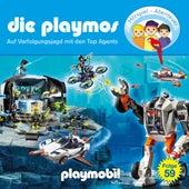 Folge 59: Auf Verfolgungsjagd mit den Top Agents (Das Original Playmobil Hörspiel) von Die Playmos