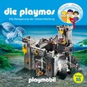Folge 55: Die Belagerung der Löwenritterburg (Das Original Playmobil Hörspiel) von Die Playmos