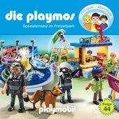 Folge 44: Spezialeinsatz im Freizeitpark (Das Original Playmobil Hörspiel) von Die Playmos