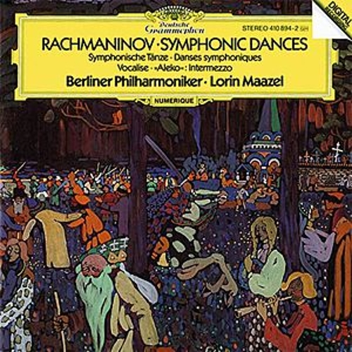 Rachmaninoff: Symphonic Dances, Op.45; Intermezzo 'Aleko'; Vocalise, Op.34 by Berliner Philharmoniker
