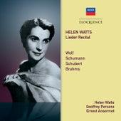 Helen Watts – Lieder Recital de Helen Watts