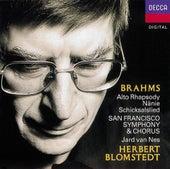 Brahms: Works for Chorus & Orchestra de Various Artists