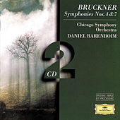 Bruckner: Symphonies Nos. 4 & 7 by Chicago Symphony Orchestra