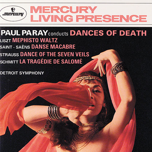 Paul Paray conducts Dances of Death by Detroit Symphony Orchestra
