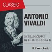 Antonio Vivaldi: Six Cello Sonatas by Evžen Rattay