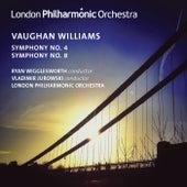 Vaughan Williams: Symphonies Nos. 4 & 8 de Various Artists