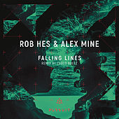 Falling Lines by Rob Hes