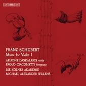 Schubert: Music for Violin, Vol. 1 by Ariadne Daskalakis