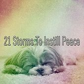 21 Storms to Instill Peace by Rain Sounds and White Noise
